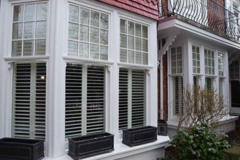 Brighton sash window install