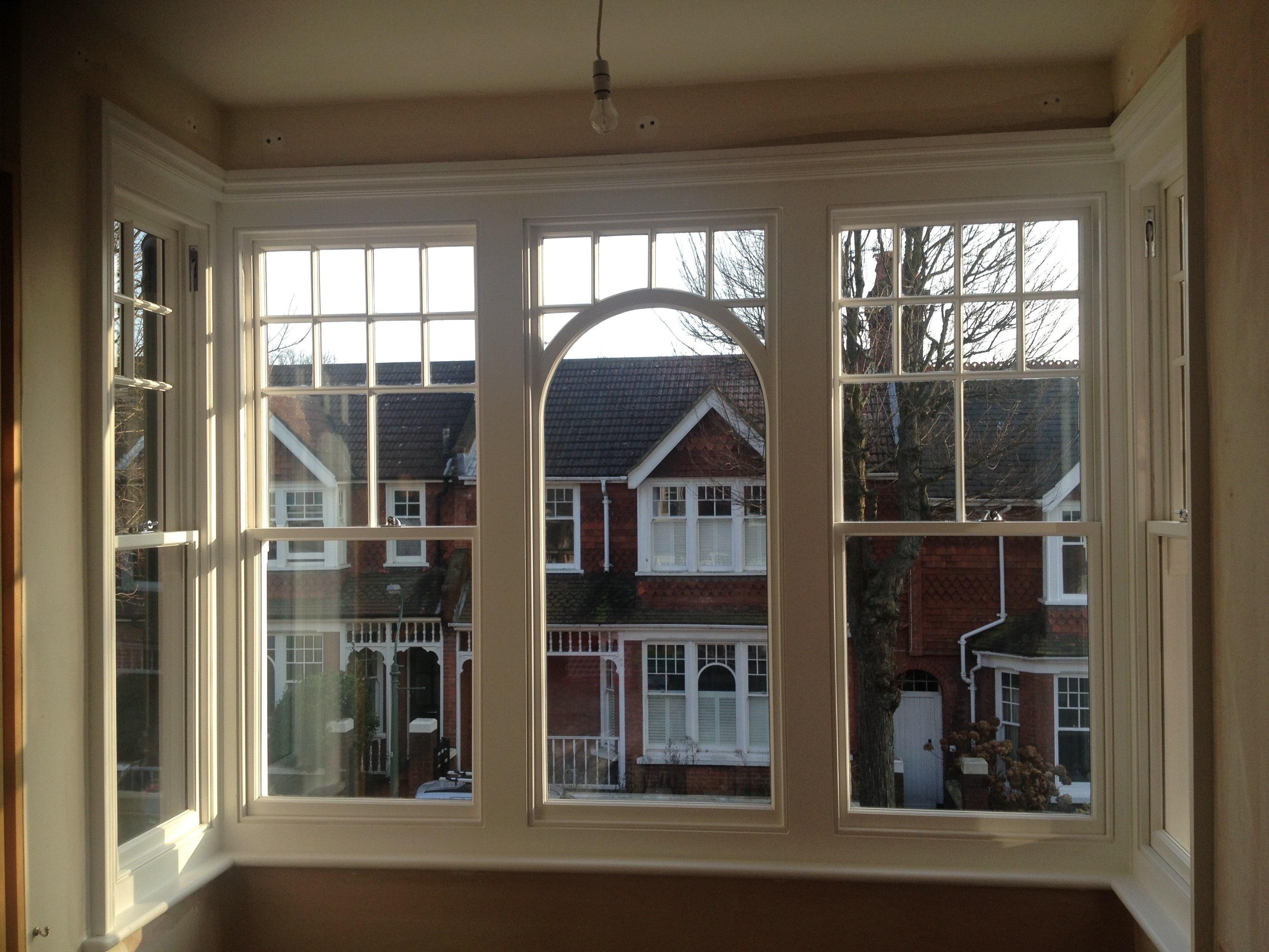 Double Glazed Replica Sash Brighton Sash Window