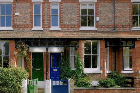 worthing house with sash windows